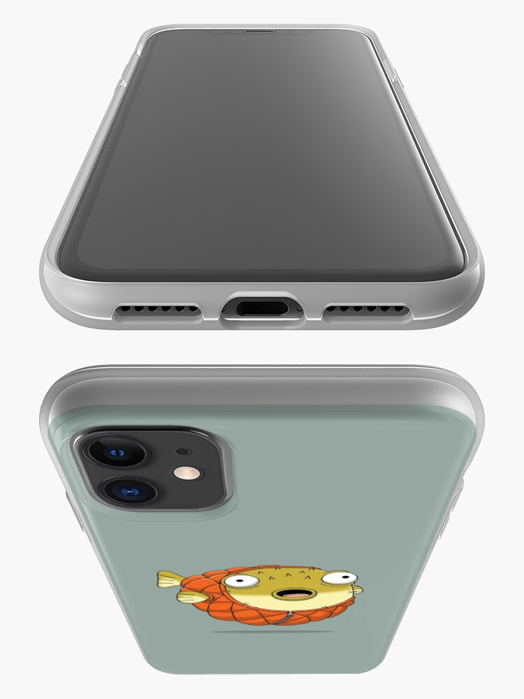 Alternate view of Puffer fish iPhone Case & Cover