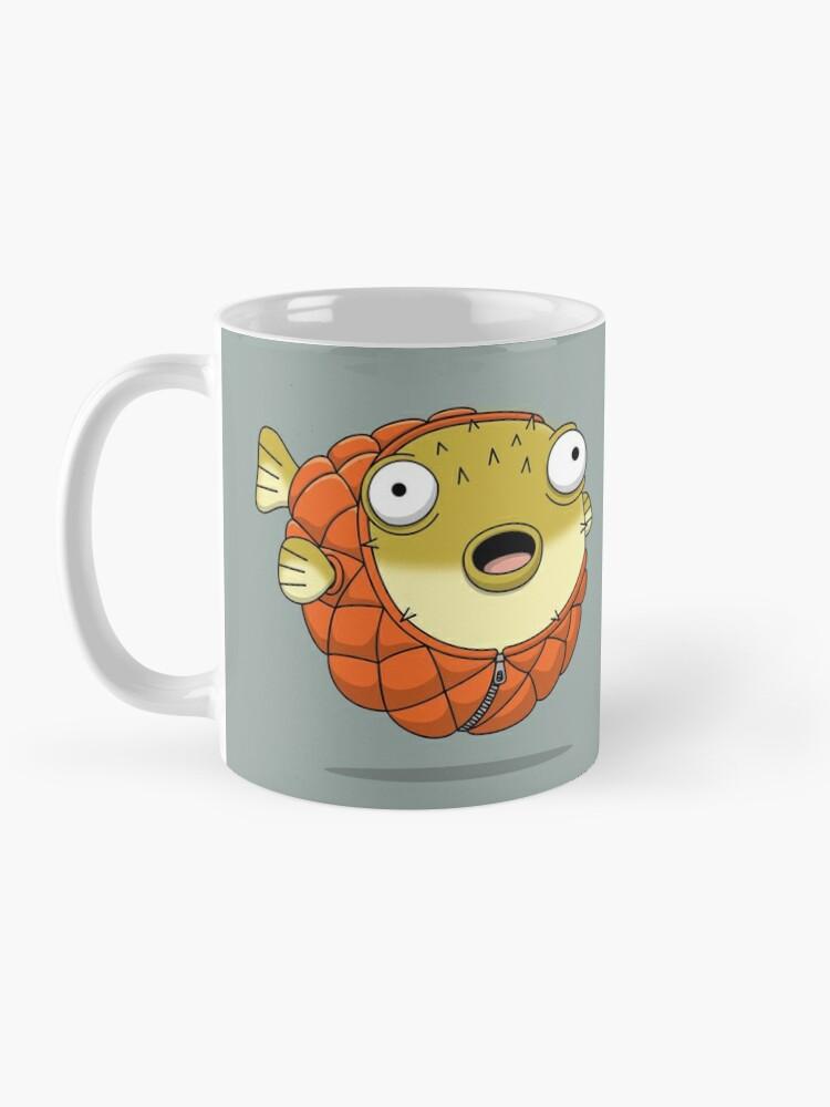 Alternate view of Puffer fish Mug