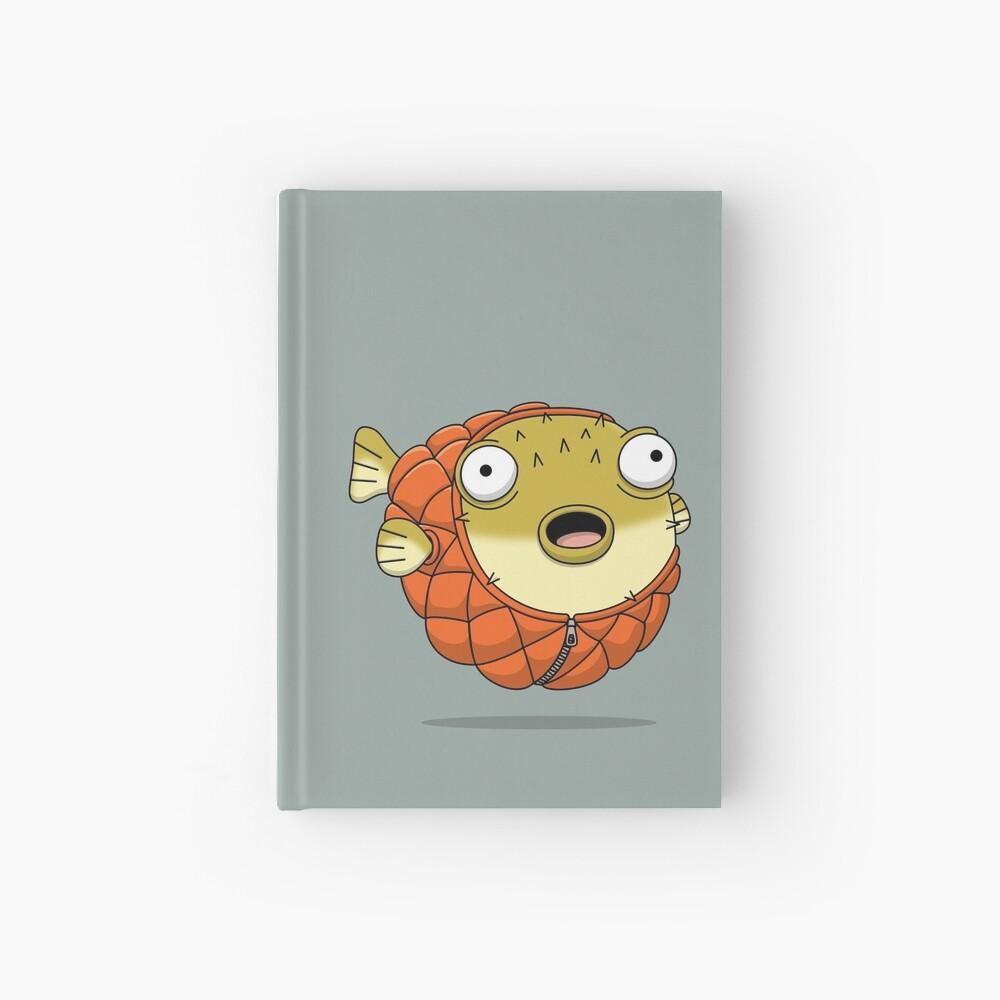 Puffer fish Hardcover Journal
