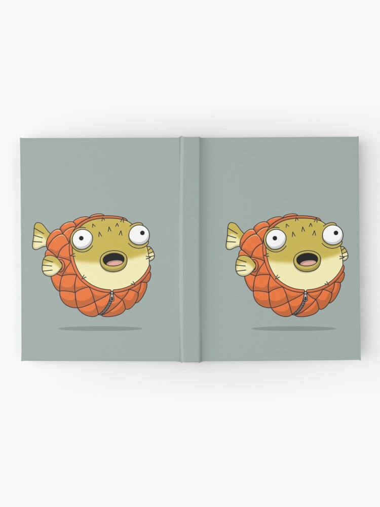 Alternate view of Puffer fish Hardcover Journal