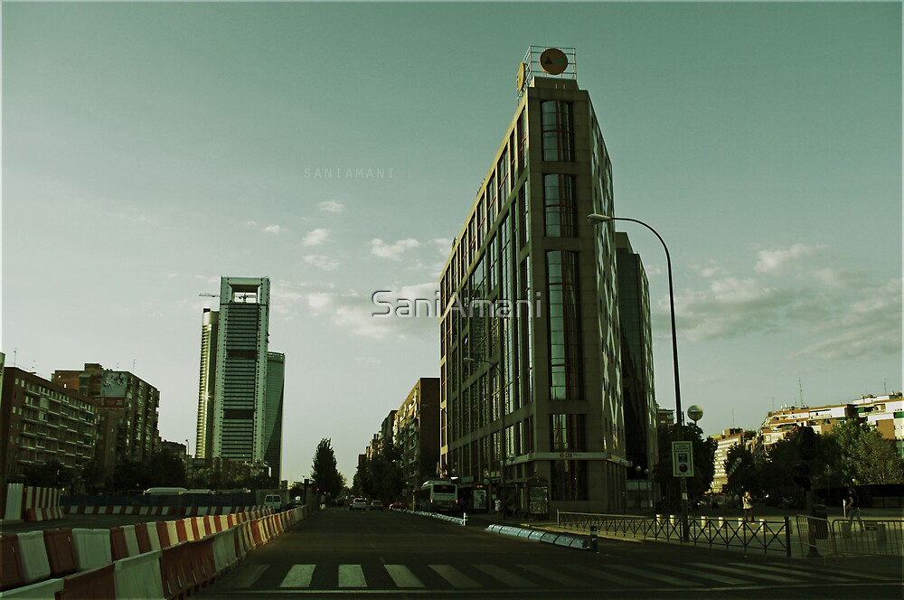 Madrid Afternoon  by SaniAmani
