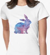 Hase Tailliertes T-Shirt für Frauen