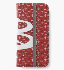 buffy pattern iPhone Wallet/Case/Skin