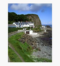 Port of the salmon - Portbradden, Northern Ireland Photographic Print