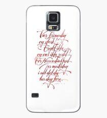 Vær frimodig og sterk Case/Skin for Samsung Galaxy