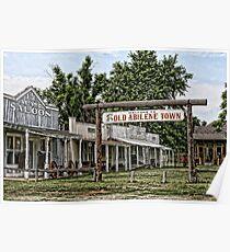 Old Abilene Town Poster
