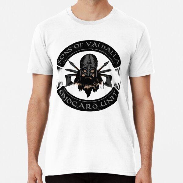 Sons of Valhalla Midgard Unit (Viking, Norse) Premium T-Shirt