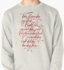 Vær frimodig og sterk Pullover Sweatshirt