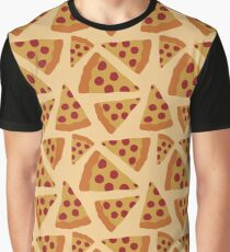 PEPPERONI PIZZA PATTERN Graphic T-Shirt
