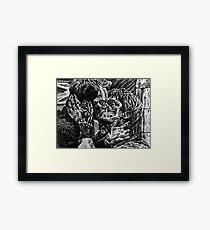 Jack Harkness and Ianto Jones-Janto  Framed Print