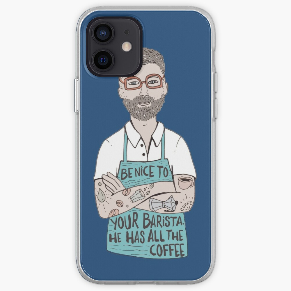 Be Nice To Your Barista iPhone Case & Cover
