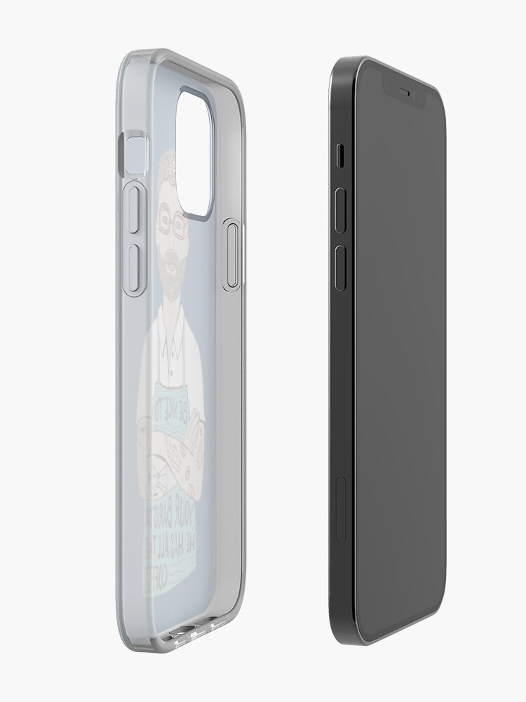 Alternate view of Be Nice To Your Barista iPhone Case & Cover