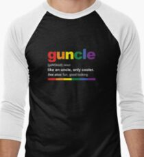 Guncle Definition Funny Gift for Gay Uncle T-Shirt