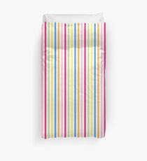 Candystripe Striped Pattern Duvet Cover