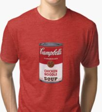 Campbell's Soup Can Tri-blend T-Shirt