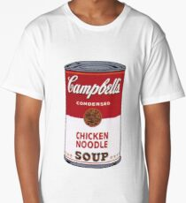 Campbell's Soup Can Long T-Shirt