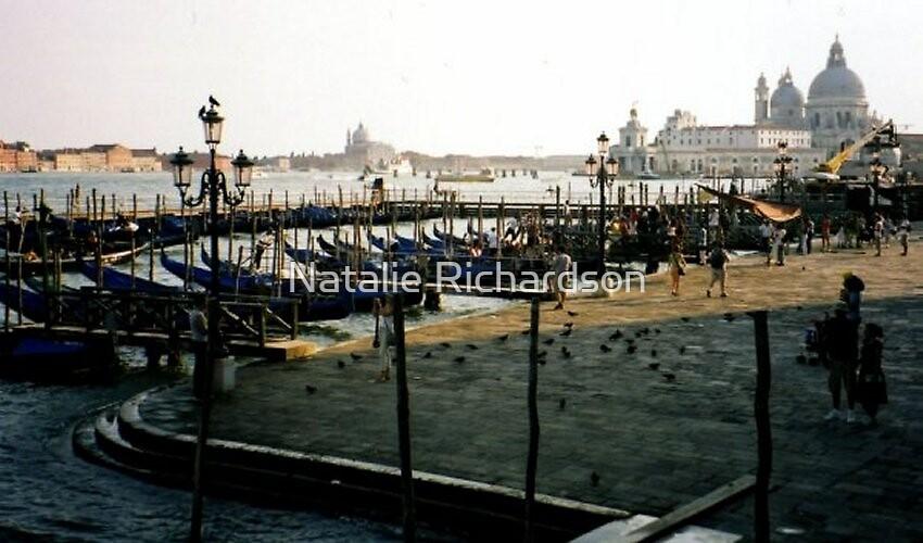 Venice Gondalas by Natalie Richardson