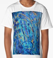 Off Limits abstract oil painting Long T-Shirt