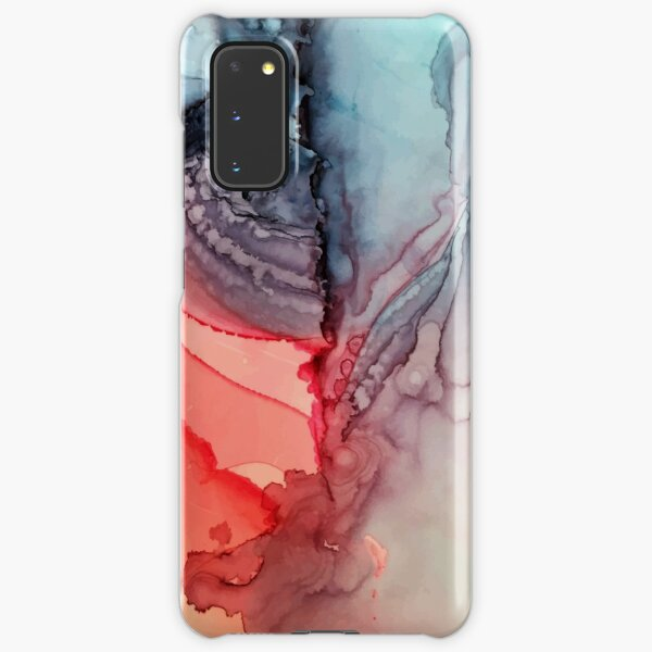 Undertown Meets Lava- Alcohol Ink Painting Samsung Galaxy Snap Case