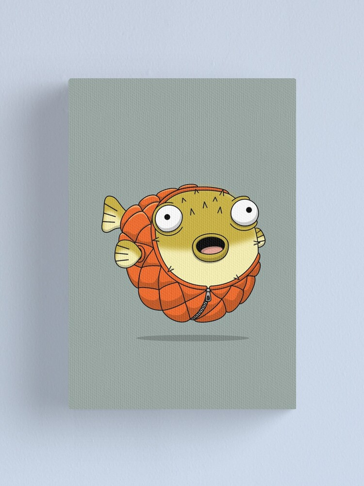 Alternate view of Puffer fish Canvas Print