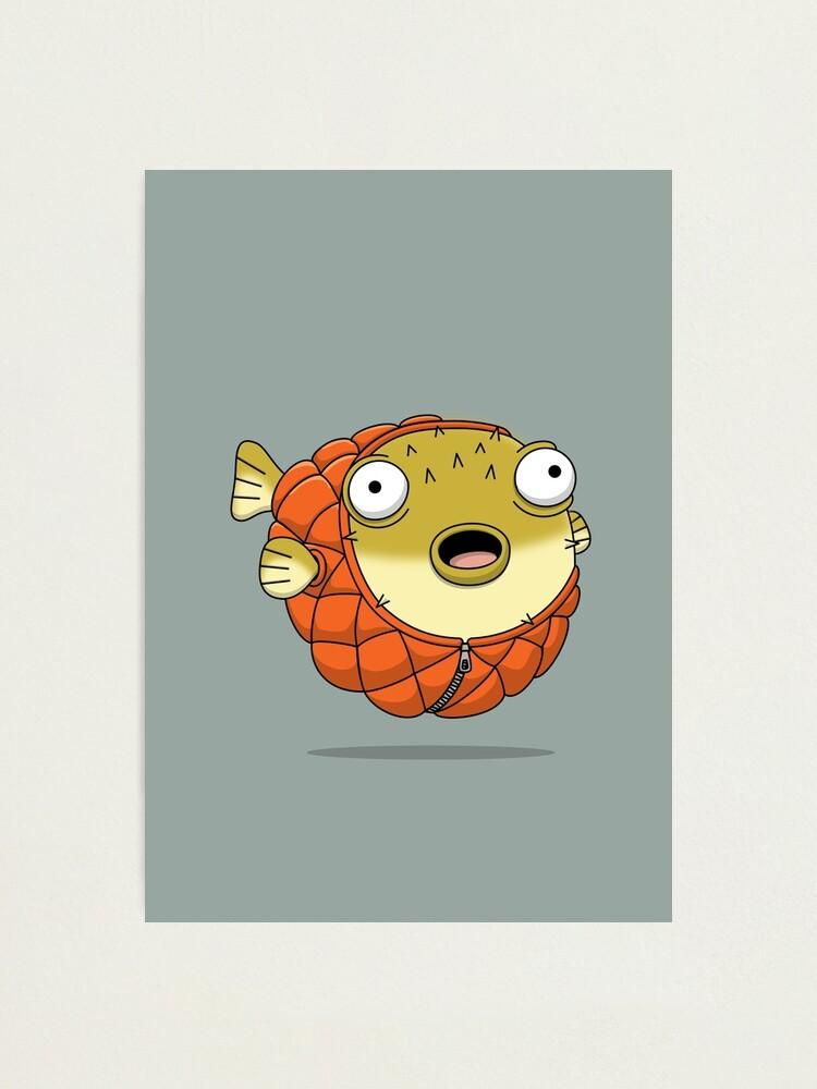 Alternate view of Puffer fish Photographic Print