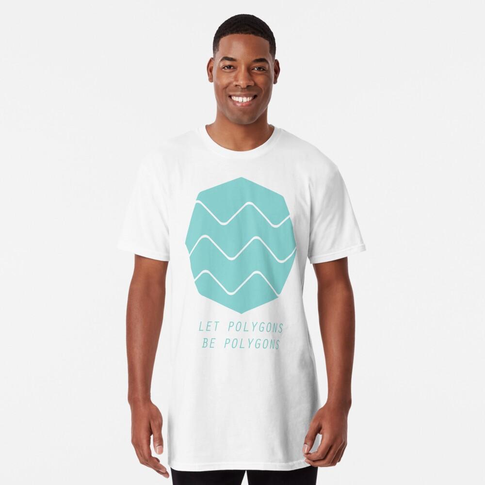 Deja que los polígonos sean polígonos Camiseta larga