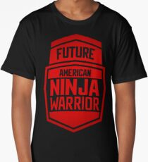 American Ninja Warrior - RED Long T-Shirt