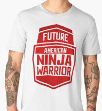 American Ninja Warrior - RED Men's Premium T-Shirt