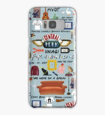 Friends Collage, blue Samsung Galaxy Case/Skin