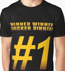 Winner Winner Chicken Dinner #1 Graphic T-Shirt