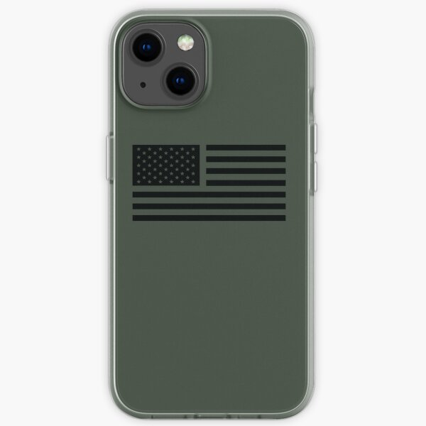 American Flag Tactical iPhone Soft Case