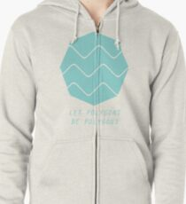 Let Polygons Be Polygons Zipped Hoodie