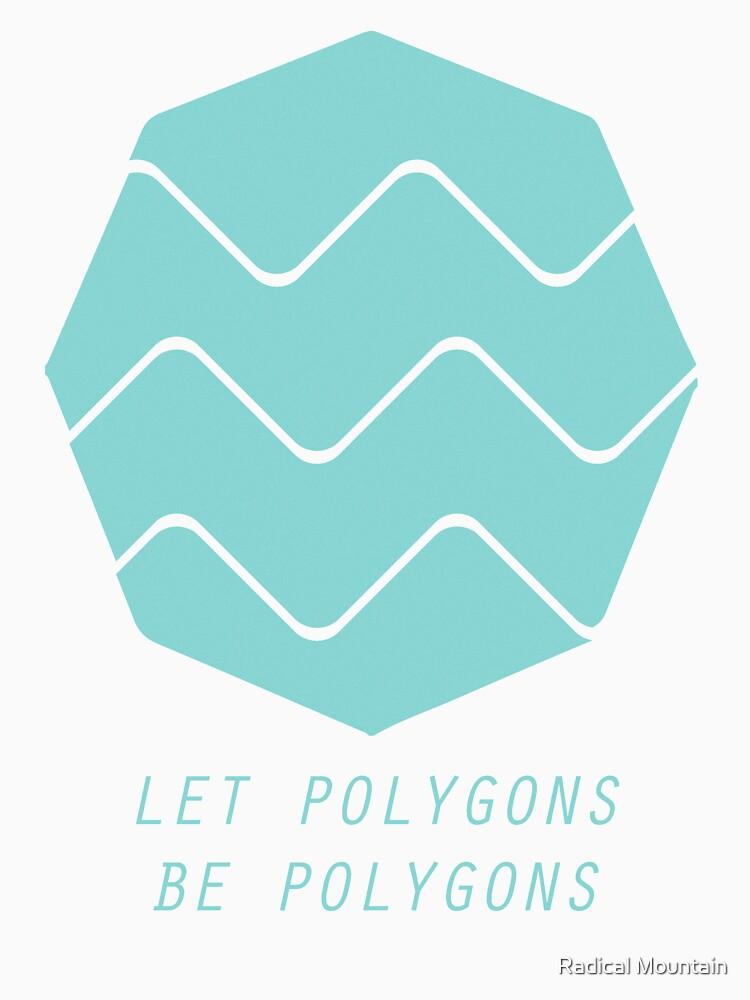 Deja que los polígonos sean polígonos de hftg