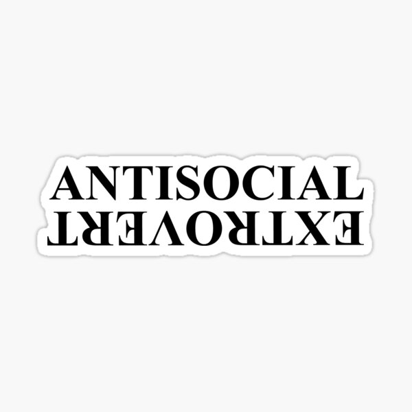 Kendrick Lamar Anti-social extraverti Sticker