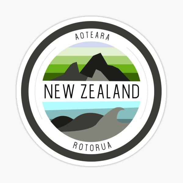 New Zealand Sticker Sticker