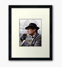 Sherlock Holmes - Jeremy Brett Framed Print