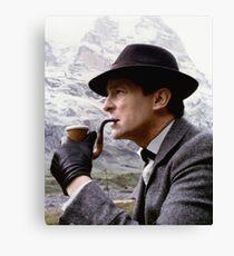 Sherlock Holmes - Jeremy Brett Canvas Print