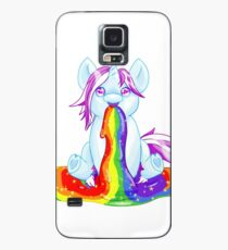 Unicorn Barfing Rainbow Case/Skin for Samsung Galaxy