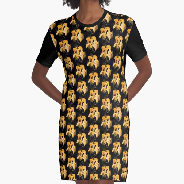 Lilly series 2 - original work - oil on canvas by Avril Thomas Graphic T-Shirt Dress