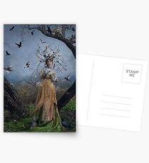 The Court Of The Dryad Queen Postcards