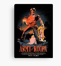 Army of Koopa Canvas Print