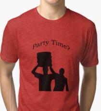 Party Time Tri-blend T-Shirt