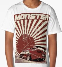 Camiseta larga Monster Supra
