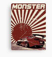 Monster Supra Canvas Print