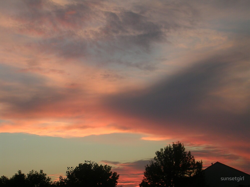 Pink Sunset by sunsetgirl