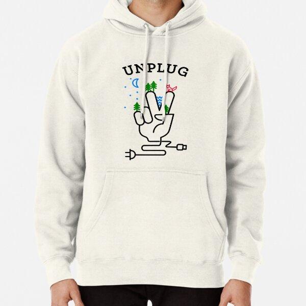 UNPLUG Pullover Hoodie