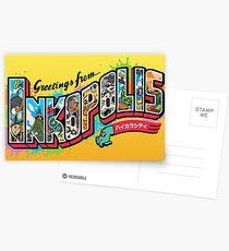 Greetings from Inkopolis Postcards