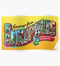 Greetings from Inkopolis Poster