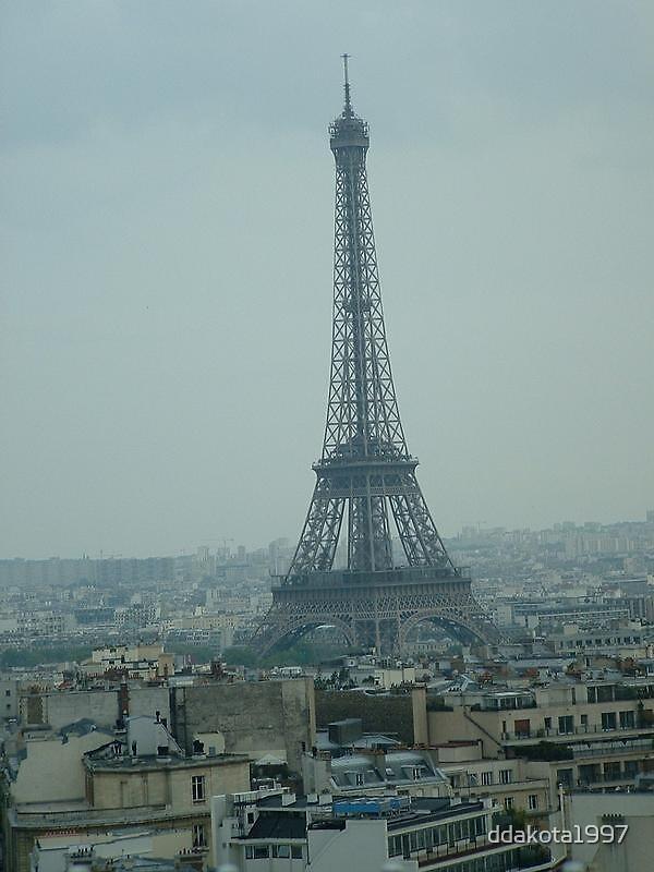 Eiffel Tower by ddakota1997