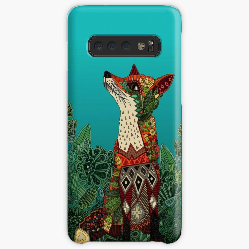 floral fox Case & Skin for Samsung Galaxy
